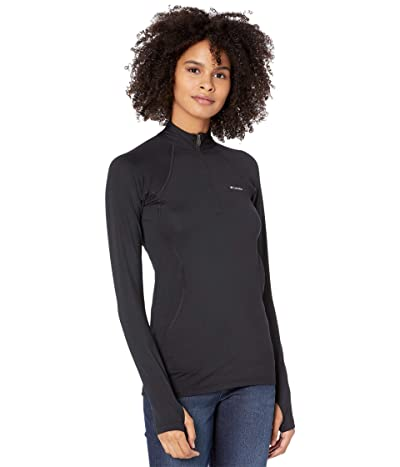 Columbia Midweight Stretch Long Sleeve 1/2 Zip (Black) Women