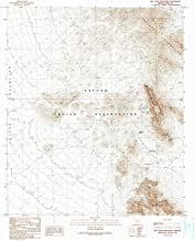 YellowMaps Ben Nevis Mountain AZ topo map, 1:24000 Scale, 7.5 X 7.5 Minute, Historical, 1990, Updated 1990, 26.7 x 22 in