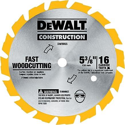 DEWALT DW9055 5-3/8-Inch 16 Tooth Series Arbor Carbide Circular Saw