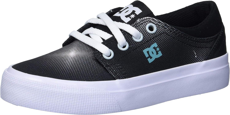 DC OFFicial mail [Alternative dealer] order Unisex-Child Trase Tx Shoe Skate Se