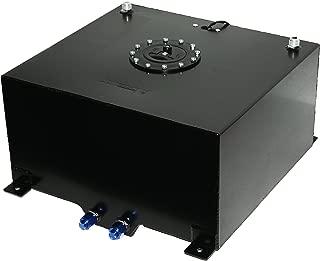 10 Gallon Black Powdercoated Aluminium Fuel Cell w/ 0-90 Ohm Sending Unit & Sump