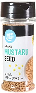 Amazon Brand - Happy Belly Mustard Seed, 3.75 Ounce