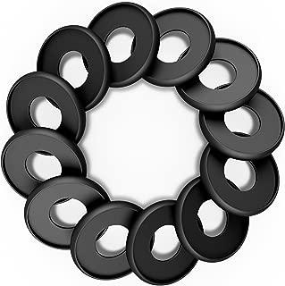Discagenda Aluminum Disc-Binding Discs 33mm 1.3in 12 Piece Set Black