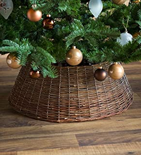 Large Willow Christmas Tree Ring Collar, 27½'' dia.