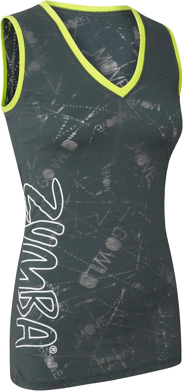 Zumba 5% OFF Over item handling Fitness Message Me Sleeveless Top V-Neck Tank