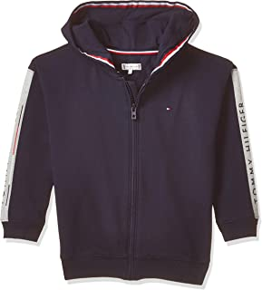 Tommy Hilfiger Girl's Essential Insert Zip Through Hoodie