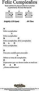 Happy Birthday - Lead Sheet - Spanish