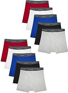 Fruit of the Loom Mens Cotton Boxer Brief Underwear Underwear