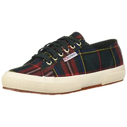 f7b7e205a6f7 Superga Women s 2750 Tartan Lace Up Sneakers