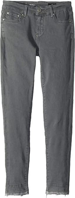 Super Skinny Jeans with Release Hem in Cool Grey (Big Kids)