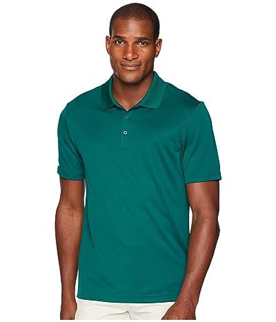 adidas Golf Performance Polo (Collegiate Green) Men