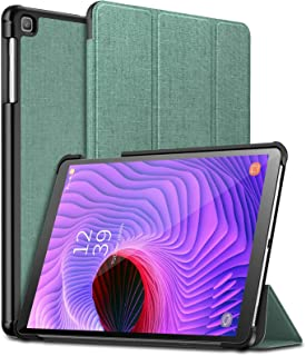 Infiland Samsung Galaxy Tab A 10.1 2019 Case, Ultra Slim Tri-Fold Shell Cover Compatible with Samsung Galaxy Tab A 10.1 Inch Model SM-T510/SM-T515 2019 Release Tablet, Mint Green