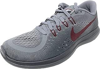 Nike Womens Flex 2017 RN Running Shoe (Cool Grey/Team Red-Dark Grey, 7 M US)