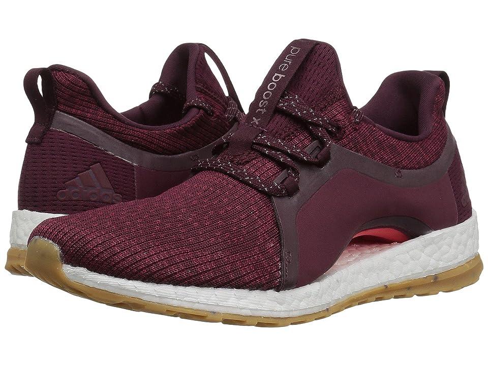 adidas Running Pureboost X ATR (Red Night/Mystery Ruby/Easy Coral) Women