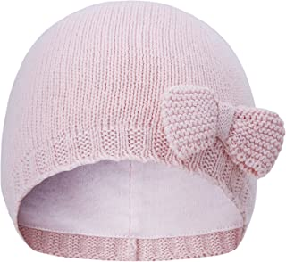 Baby Hats Toddler Baby Girl Lovely Bowknot Knit Hats Baby Hats