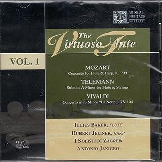 JULIUS BAKER - Mozart-Flute Concerto N.1-Vaughan Williams-Fantasia On Greensleeves (1 CD)