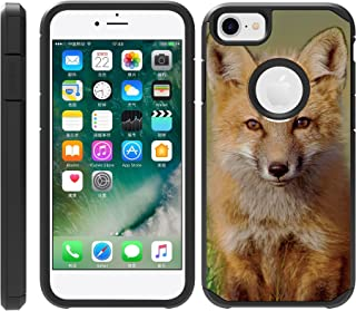 TurtleArmor | Compatible with Apple iPhone 6 Case | iPhone 6s Case | Fitted Hybrid Shell Shockproof TPU Case Animal - Baby Fox