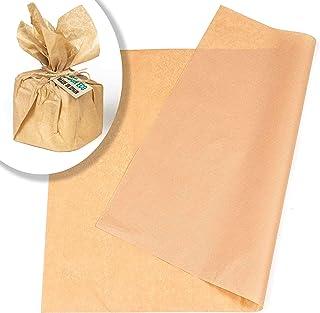 Papier kraft A3 60 feuilles pour emballages cadeaux, travaux manuels, papier manille marron clair