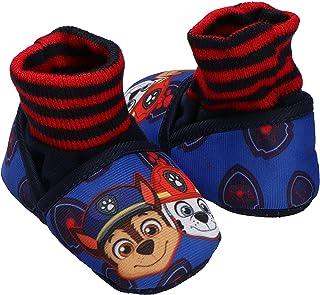 Fantasy Kids Pantufla calcetin importada para niño, Paw Patrol, Mod.6309, Azul Talla 13