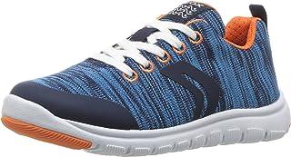 Geox Kids' Xunday BOY 6 Sneaker
