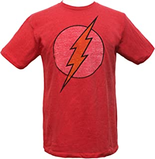 DC Comics The Flash Logo Men's T-Shirt