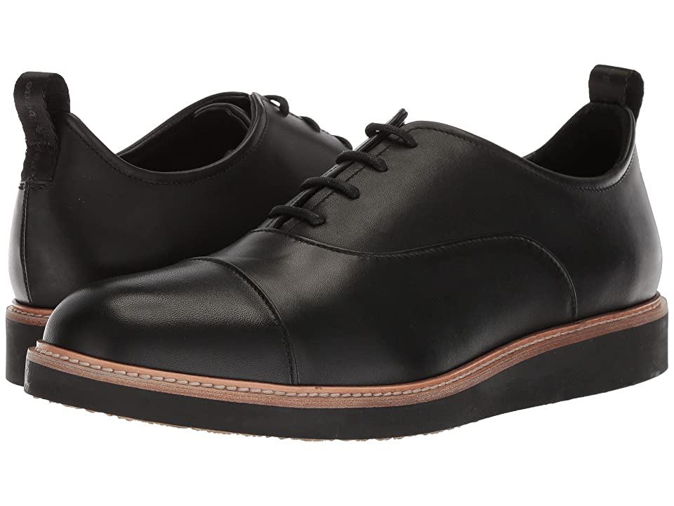 rag & bone Liam Cap Toe Oxford (Black) Men