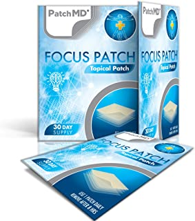 PatchMD - Focus Patch Topical Patch, 30-Day Supply
