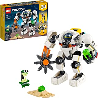 LEGO Creator 3in1 Space Mining Mech 31115 Building Kit Featuring a Mech Toy, Robot Toy and Alien Figure; Makes The Best To...