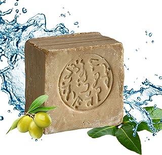 Original Aleppo Seife Klassik, 85% Olivenöl 15% Lorbeeröl, Olivenölseife, Haarseife, ca. 200 Gramm