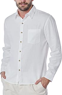 Camisa linho com viscose slim Hering Masculino