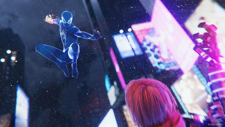 スパイダーマンマイルズモラレス画像