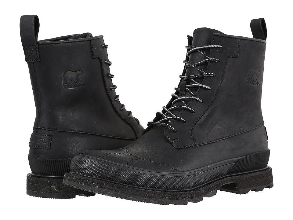SOREL Madson Wingtip Boot (Black) Men