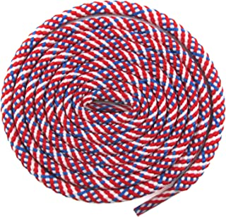 red white and blue shoe laces