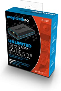magicJackGo 2017, VOIP Portable Home, Business and On-The-Go Digital phone Service that Allows You to Make Unlimited Local & Long Distance Calls to the U. S. and Canada. NO Monthly Bill.