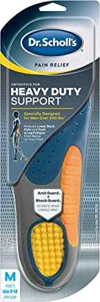 Dr. Scholl's HEAVY DUTY SUPPORT Pain Relief Orthotics  (Men's 8-14) // Designed for Men over 200lbs