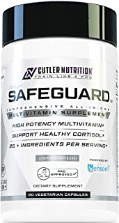 Safeguard High Potency Multivitamin for Adults: Best Daily Multivitamin and Multi Mineral Support Supplement with Sensoril...