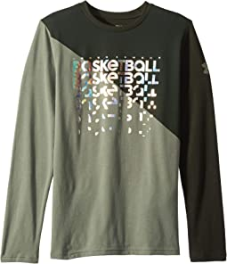UA Basketball Repeat Long Sleeve Tee (Big Kids)