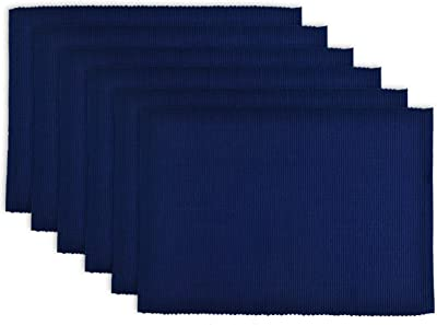Details about  /N//C Placemats Set of 6 with Blue Wave 12x18 Inches Polyester Heat Resistant Dini