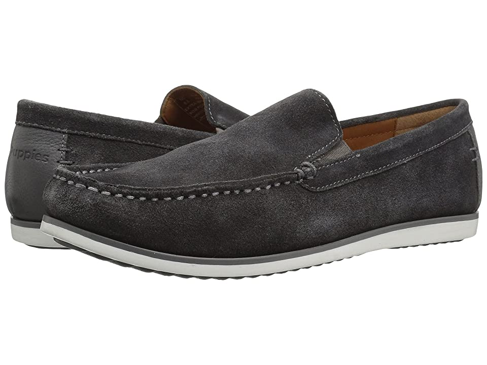 Hush Puppies Bob Portland (Dark Grey Suede) Men