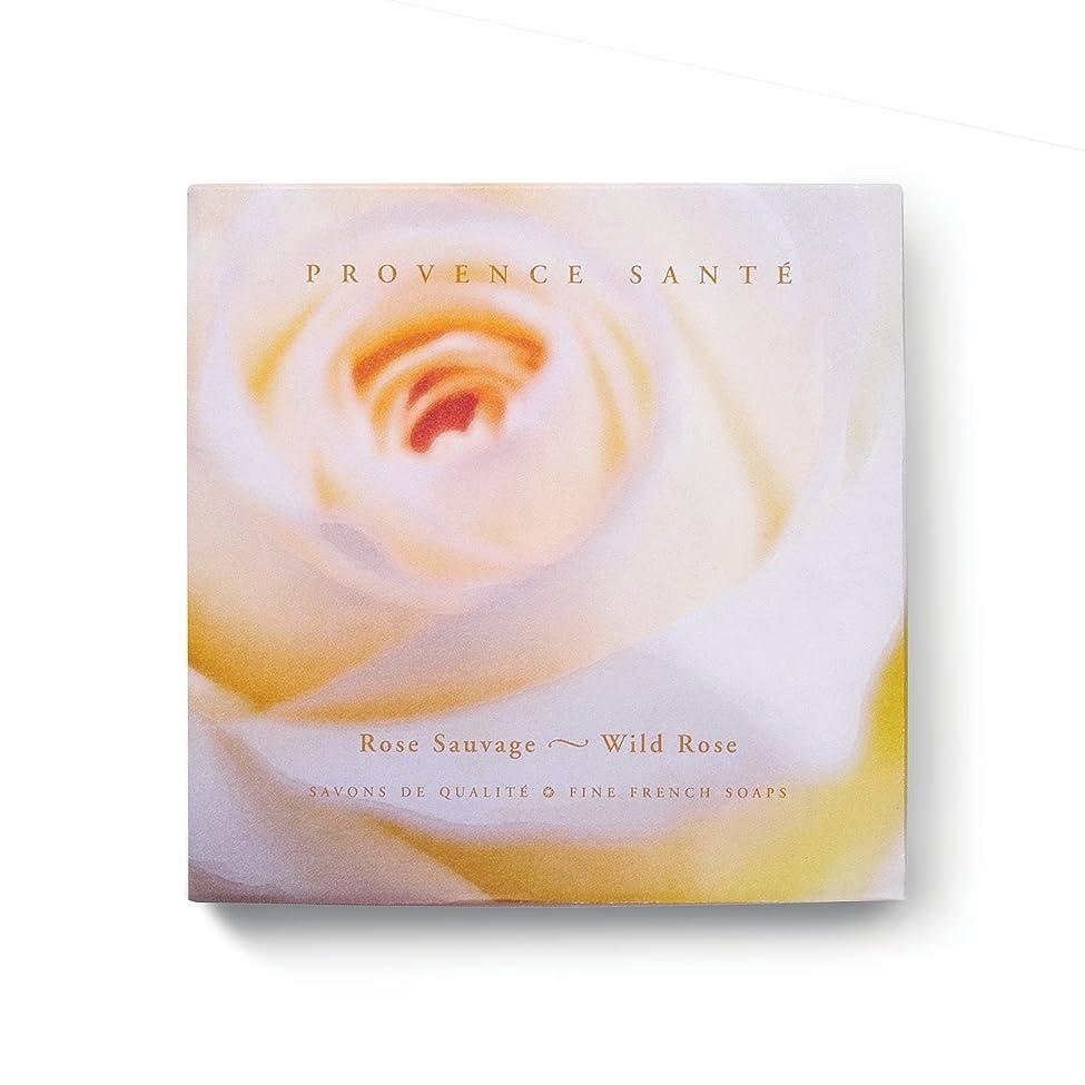 記念碑的な反響する発掘するProvence Sante PS Gift Soap Wild Rose, 2.7oz 4 Bar Gift Box by Provence Sante [並行輸入品]