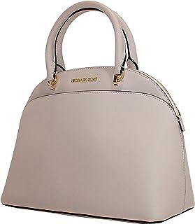 80023b44ea4c MICHAEL Michael Kors EMMY Women's Shoulder Handbag LARGE DOME SATCHEL  (Ballet)