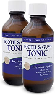 Dental Herb Company - Tooth & Gums Tonic (18 oz.) Mouthwash (2 Bottles)