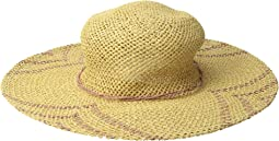 San Diego Hat Company - PBL3095OS Woven Paper Sun Brim w/ Color Pop Pattern