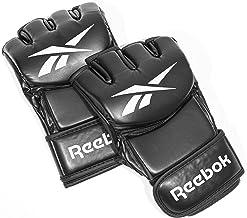 Reebok Rscb-10410Rdbk Combat Training Leather Glove, Black, Small