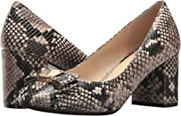 Roccia Snake Print Leather