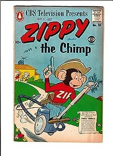 ZIPPY THE CHIMP #50 [1957 VG] VACCUM COVER