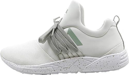 ARKK Copenhagen Raven - Hauszapatos de Tela para Hombre blancoo blancoo