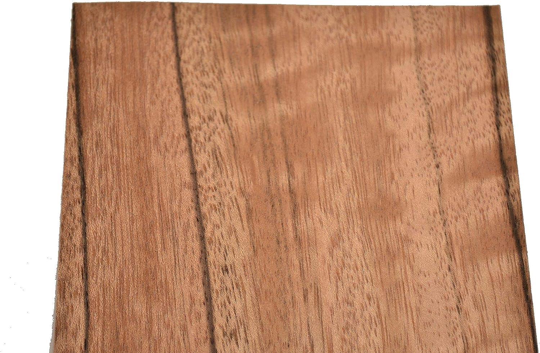 Paldoa Raw Wood Veneer Sheets 5 x 33 inches 1/42nd Thick