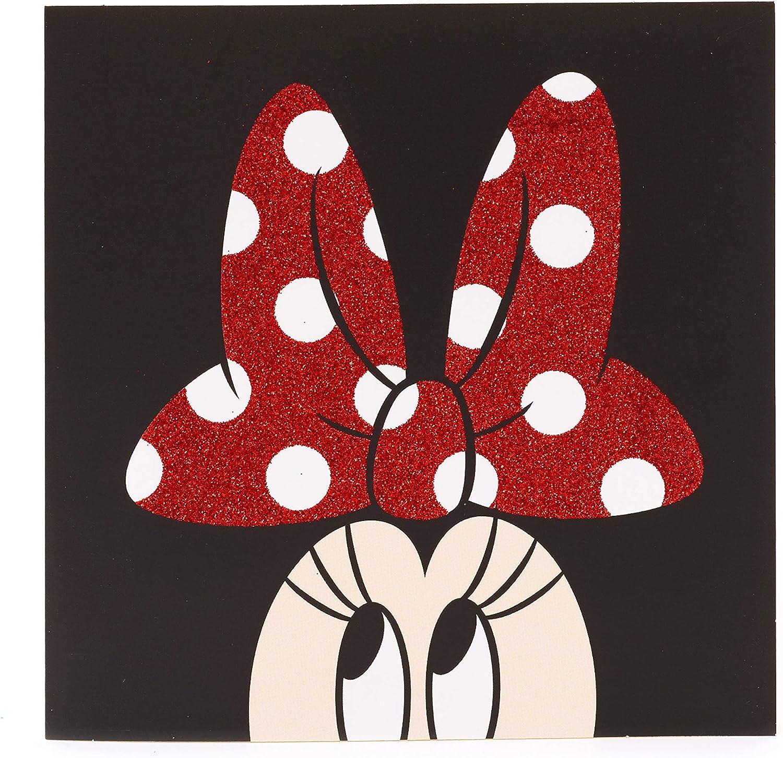 Tarjeta de felicitación de Minnie Mouse – perfecta para una variedad de ocasiones – Tarjeta de felicitación de Disney – Tarjeta de regalo para ella – Tarjeta de regalo para niñas – Regalos de Disney