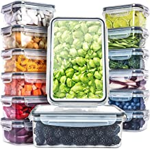 Fullstar (14 Pack) Food Storage Containers with Lids - Plastic Food Containers with Lids - Plastic Containers with Lids BP...